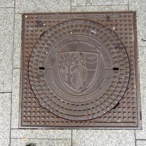 Kanaldeckel Deutschland Friedrichshafen