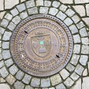 Kanaldeckel Deutschland Blankenburg