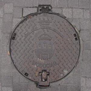 Kanaldeckel Polen Krakow