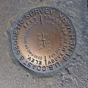 Messpunkt Hoover Staudamm USA
